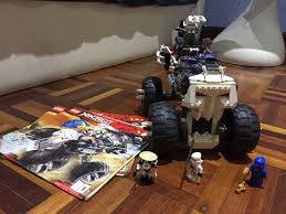 100 Fangpyre Truck Ambush Lego Ninjago Skull 2506 Mainan Game Alat Mainan Lain Di