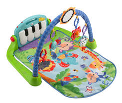 Fisher Price Kick and Play Piano Gym Green Toys