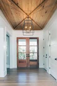 104 Wood Cielings Top 60 Best Ceiling Ideas En Interior Designs Farmhouse Foyer Foyer Lighting High Ceiling Modern Foyer