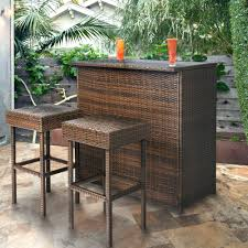 wicker bar height patio set patio ideas patio furniture pub table sets patio bar table with