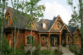 Rustic Mountain Style House Plans R