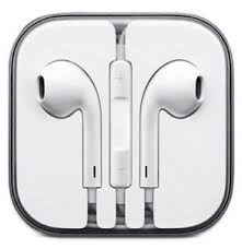Brand New Earbuds Earphone Headset With Mic For Apple iPhone 5