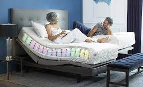 Adjustable Bed Base Split King by Better Living With The Reverie Sleep System Reverie