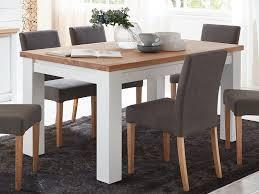 esstisch küchen tisch olbia 140 160 180 200 x 95 cm pinie nordica weiß und wildeiche natur geölt