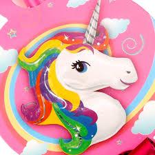 QIFU 6 Unids Unicornio Suministros De Fiesta Blowout Cartoon Horn Trompeta Unicornio Fiesta De Cumpleaños Decoración Unicornio Decoración Baby Shower