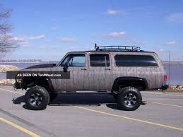 1986 Chevy Silverado Suburban 4x4 Lifted Camo Monster Truck