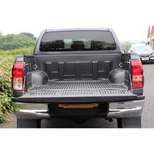 Armadillo Bed Liner by Bedliner Over Rail Toyota Hilux Mk9 16on Pick Up Tops Uk