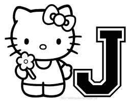 Cool Hello Kitty Halloween Coloring Pages Free Download