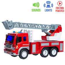 100 Fire Lights For Trucks Amazoncom Friction Powered Truck Toy With Sounds For