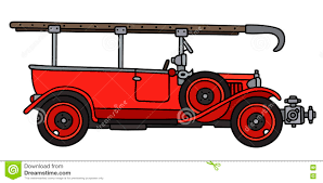 100 Fire Truck Drawing Vintage Fire Truck Stock Vector Illustration Of Patrol 71987604