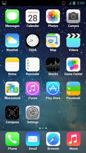 iOS 7 Launcher Retina iPhone 5 1 0 0 Download APK for Android