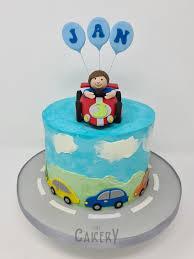 auto torte zum 3 geburtstag the cakery rahn römer