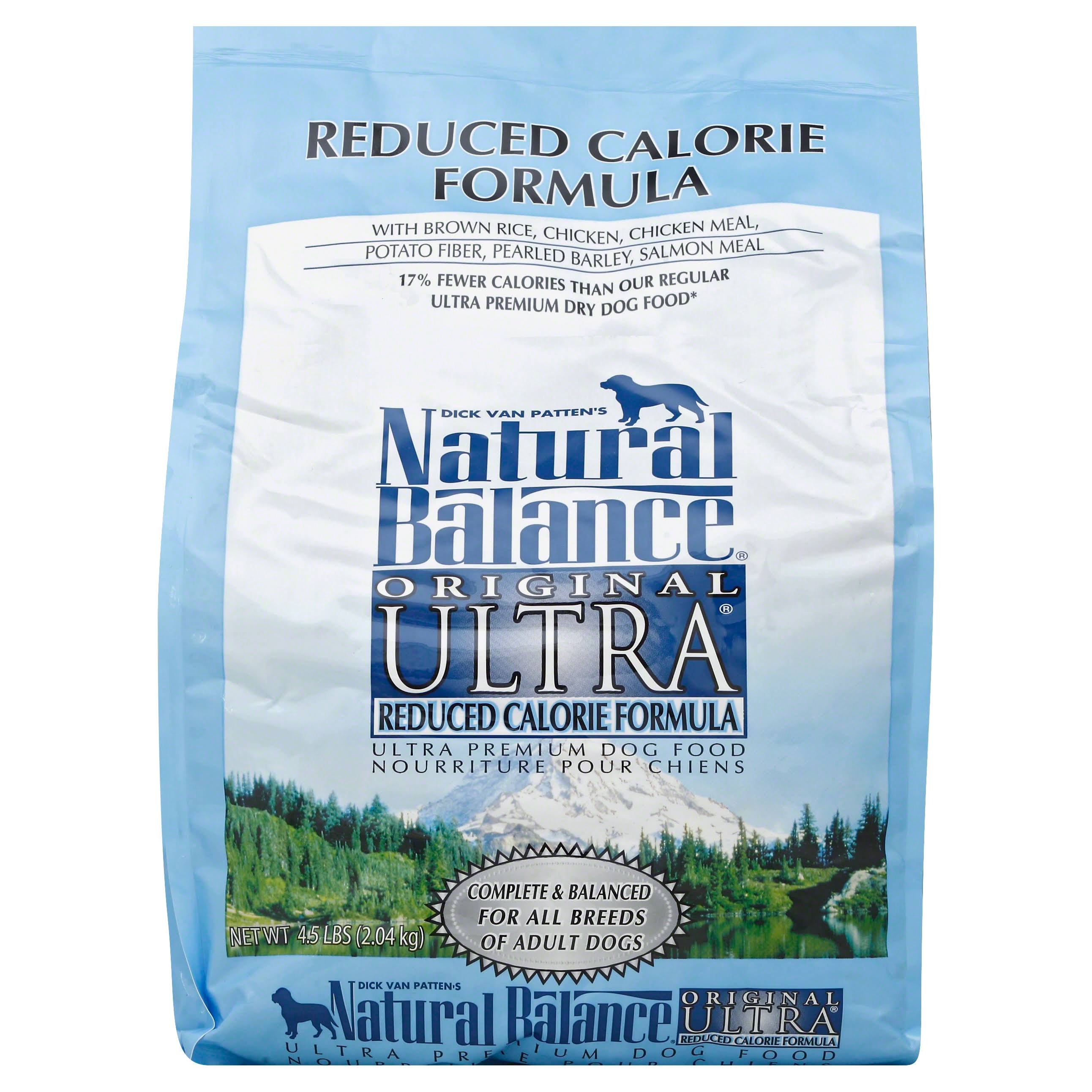 Natural Balance Original Reduced Calorie Formula Grain Free Dry Dog Food - 4.5 lbs