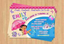 Dora The Explorer Kitchen Set India by Dora The Explorer Swimming Pool Birthday Party Personalized
