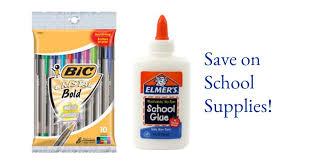 walgreens supply deals 10 pens pencils southern savers