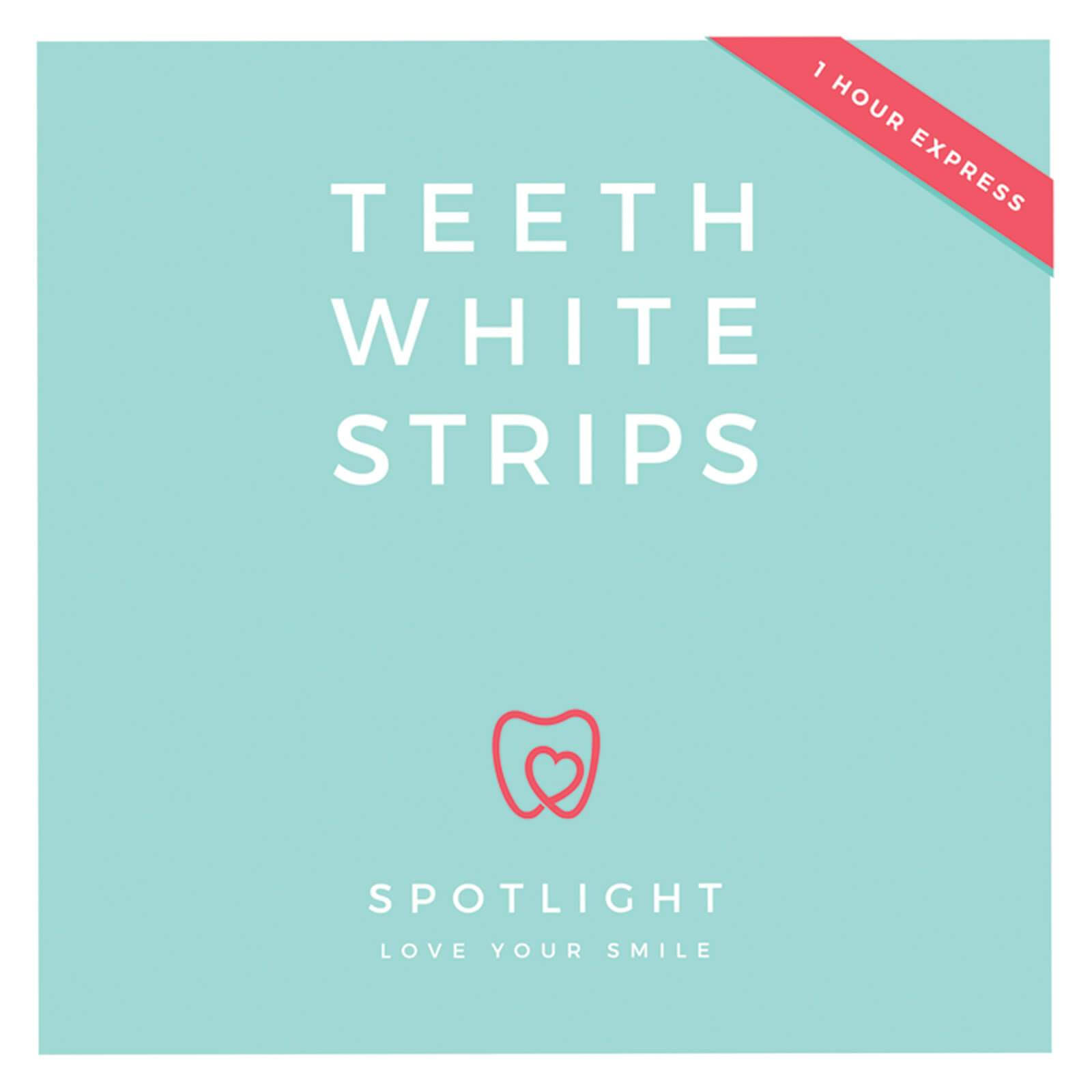 Spotlight Teeth White Strips Whitening Strips Box - 28pk