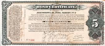 Corporate Bond Certificate Template 10