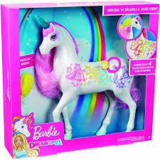 Barbie Unicornio Brillante Mattel