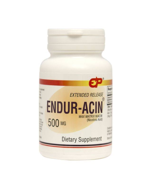 Endur-Acin 500 mg Low-Flushing Extended Release Niacin 200 Tabs