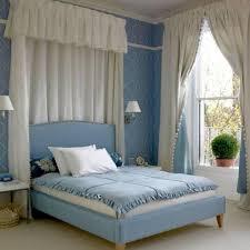 Vintage Light Blue Bedroom