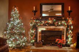 Wonderful Living Rom For Christmas Wonderfully Decorated Indoor Tree