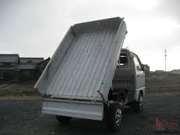 DUMP BED! SUZUKI CARRY 4X4 JAPANESE MINI TRUCK OFF ROAD FARM LANCE ...