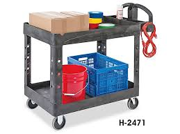 Utility Carts Rubbermaid Plastic In Stock