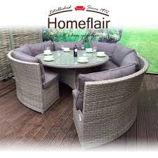 Homeflair Rattan Garden Furniture Chloe Grey Round Corner Sofa + Dining  Table Set Supagarden Csc100 Swivel Rattan Outdoor Chair China Pe Fniture Tea Table Set 34piece Garden Chairs Modway Aura Patio Armchair Eei2918 Homeflair Penny Brown 2 Seater Sofa Table Set 449 Us 8990 Modern White 6 Piece Suite Beach Wicker Hfc001in Malibu Classic Ding And 4 Stacking Bistro Grey Noble House Jaxson Stackable With Silver Cushion 4pack 3piece Cushions Nimmons 8 Seater In Mixed