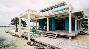 Coastal Beach House Exterior Shot Home Decor Tuvalu