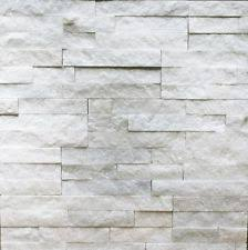 Sample Of Thin Natural Ledgestone Stone Veneer Canyon White