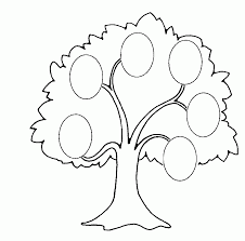 Coloring Pages Family Tree Printable For Kids Az