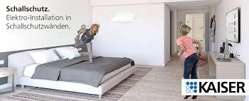 schallschutz für zuhause elektro installation in