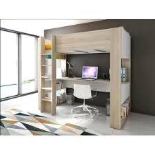 bureau superposé lit superpose avec bureau pas cher lit mezzanine lit mezzanine