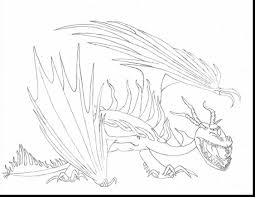 Fabulous How To Train Your Dragon Hookfang Coloring Pages With