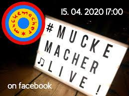 muckemacher livestream wohnzimmerkonzert am mi 15 4