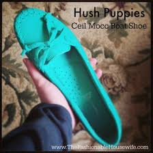 Hush Puppies Ceil Slip On Mt by Wearing Hush Puppies Ceil Mocc Boat Shoes The Fashionable Housewife