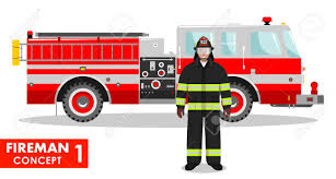 Detailed Illustration Of Fireman And Fire Truck In Flat Style ... Firemantruckkids City Of Duncanville Texas Usa Kids Want To Be Fire Fighter Profession With Fireman Truck As Happy Funny Cartoon Smiling Stock Illustration Amazoncom Matchbox Big Boots Blaze Brigade Vehicle Dz License For Refighters Sensory Areas Service Paths To Literacy Pedal Car Design By Bd Burke Decor Party Ideas Theme Firefighter Or Vector Art More Cogo 845pcs Station Large Building Blocks Brick Fire