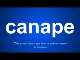 pronunciation of canapes the correct pronunciation of canape in