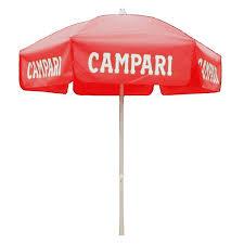 Outdoor Patio Umbrella Campari Italian Brand