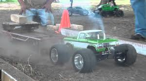 100 Slash Rc Truck Finishline RC Pulling With Funny Mini Rampage RC