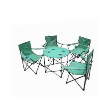 Folding Camping Table & Chairs Set With Carry Bag ( Case Of 2 ) U975-OT061-2
