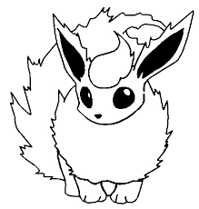 Mobile Coloring Pokemon Pages Flareon About