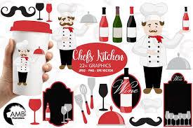 Chef Clipart Kitchen Wine Master