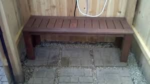 Bathroom Brown Color Of Traditional Bench Fit To Diy Shower With Cute Gravel And