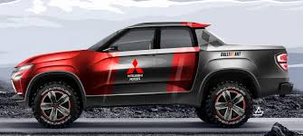 100 Truck Designer A NewAge Sports Pickup Might Be Just What Mitsubishi Needs