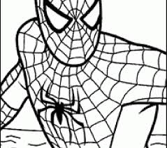 Free Spiderman Coloring Pages Large Images Kids Online