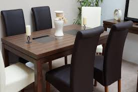 100 Oak Table 6 Chairs Java Rattan Glass Chatsworth Grey Gray Wood Clearance And