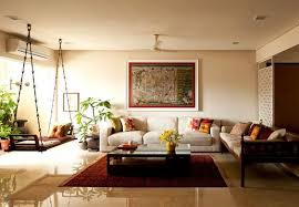 Neutral Living Room Designs Indian Style
