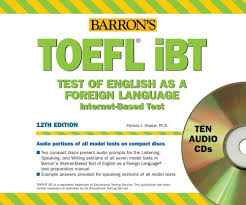 TOEFL IBT Audio CD Package Barrons How To Prepare For The
