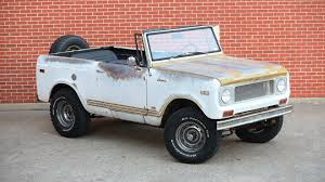 Rare International Scout Comanche Is 1 Of 1,500, And It's For Sale